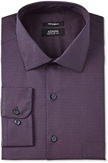 Alfani Mens Gingham Regular Fit Button-Down Shirt