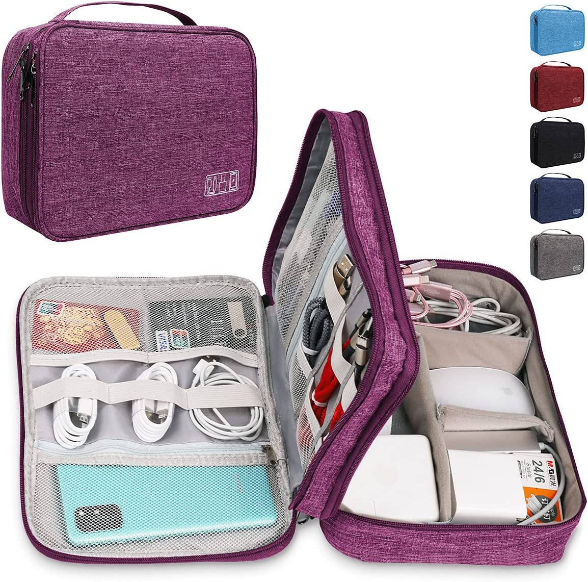 Mektron Cord All stores are Cheap mail order sales sold Organizer Bag Universal Travel Cas Cable