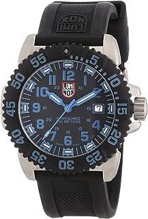 Luminox - 3153 - Reloj de Caballero de Cuarzo, Correa de Caucho Color Negro