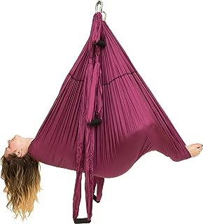 Omni Gym Omni Yoga Swing Original- Inversion Therapy, Yoga Practice, Aerial Fitness, Back Pain, Suspension Trainer