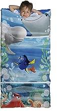 (Blue/Green Dory) - Disney/Pixar Finding Dory 'Adoryable' Slumberbag with Bonus Backpack, Sleepover Set