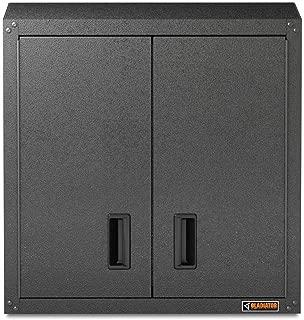 Gladiator GAWG28FDESG Ready-to-Assemble Full-Door Wall Gearbox, Dark Grey