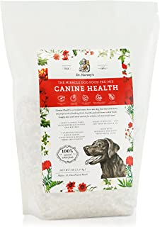 Dr. Harvey`s Canine Health Miracle Dog Food, Human Grade Dehydrated Base Mix for Dogs with Organic Whole Grains and Vegeta...