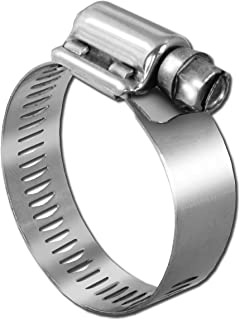 Pro Tie 33503 SAE Size 032 Range 1-9/16-Inch-2-1/2-Inch Heavy Duty All Stainless Hose Clamp, 4-Pack