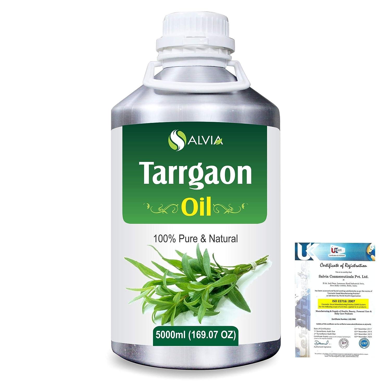 エレベーター一部エレベーターTarrgaon (Artemisia Dracunculus) 100% Natural Pure Essential Oil 5000ml/169fl.oz.