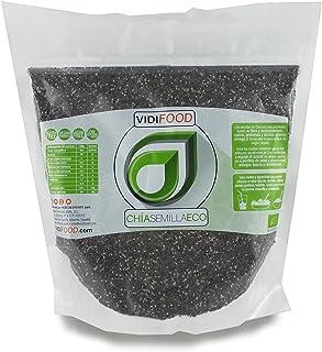Semillas de Chía ECO Naturales - 1 kg - Certificado Ecoló
