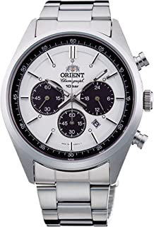ORIENT Watch Sporty NEO 70's Neo Seventies SOLAR PANDA Milky White WV0041TX Men's