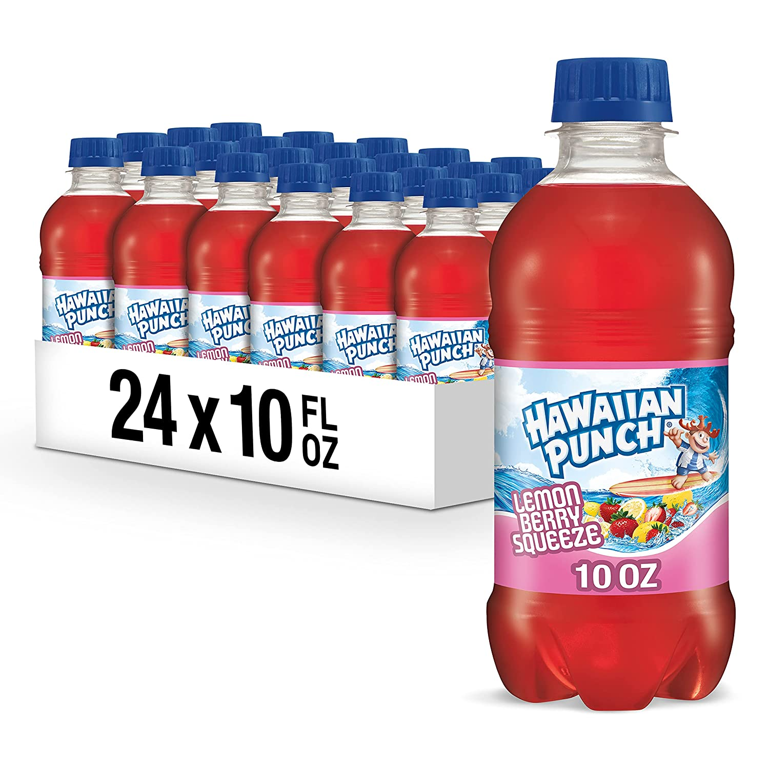 Hawaiian Punch Lemon Berry Squeeze 10 Tucson Mall bottles oz 24 Directly managed store fl Pack of