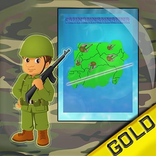 Army War Zone Sliced Territory : entre a seu próprio risco - Edição de ouro