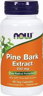 NOW® Pine Bark Extract, 240 mg, 90 Veg Caps