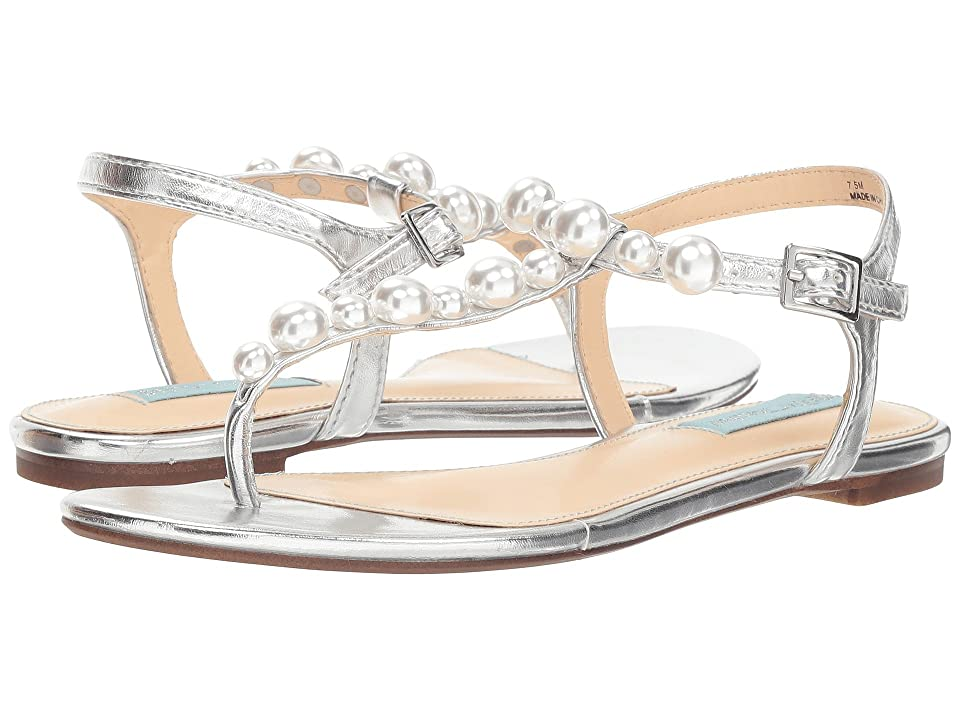 f755e72f75d Betsey Johnson Bryce (Silver Metallic) Women