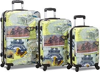 Mosaic 3-Piece Hardside Spinner Luggage Set