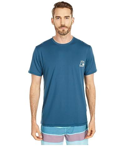 Quiksilver Heritage Short Sleeve (Majolica Blue) Men