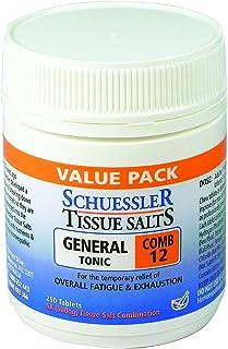 Schuessler Tissue Salts 250 Tablets - Comb 12 6X