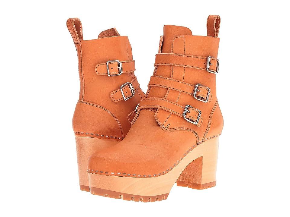 Swedish Hasbeens Buckle Boot (Nature) Women