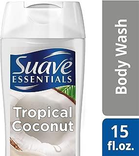 Suave Essentials Body Wash, Creamy Tropical Coconut, 15 oz