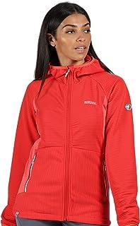 Regatta Women's Terota' Full Zip Extol Stretch Hooded Ribbed Fabric Fleece