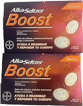Alka Seltzer Boost Ayuda a Reanimar y Reponer Tu Cuerpo (Dos Cajas)