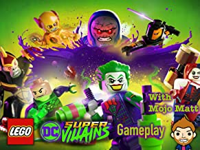Lego DC Super Villains Gameplay With Mojo Matt