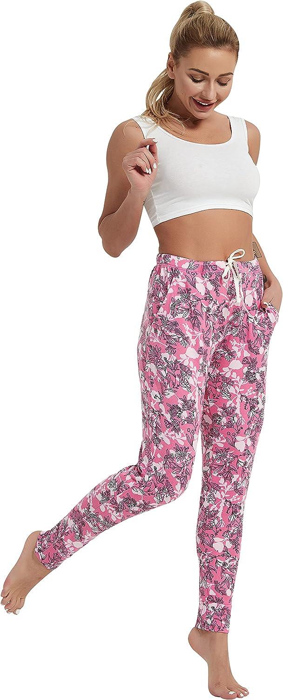 Zero Zoo Women's Pajama Pants for Women Soft Drawstring Pj Botto