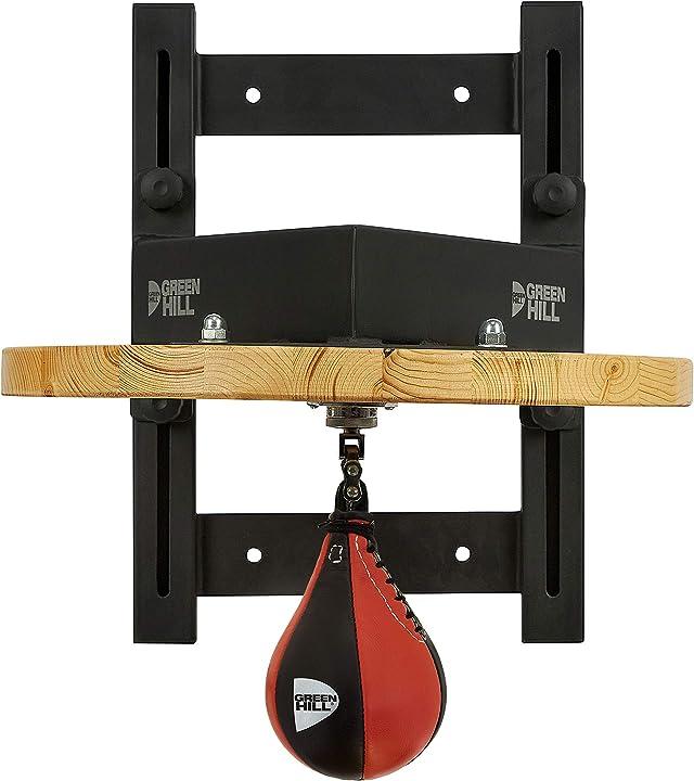 Pera veloce boxe, supporto peretta pugilato, staffa speed ball boxing professionale green hill B08W56KH2P