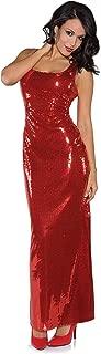 red bombshell dress