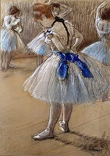 Edgar Degas: Dancer (Ballet/Ballerina). Fine Art Print/Poster. (42xm x 29.7cm)