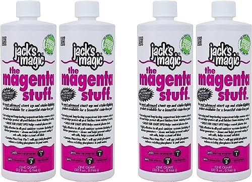 new arrival Jack's Magic The Magenta Stuff popular (1 qt) (2 Pack) (Sеt оf popular Тwо) online