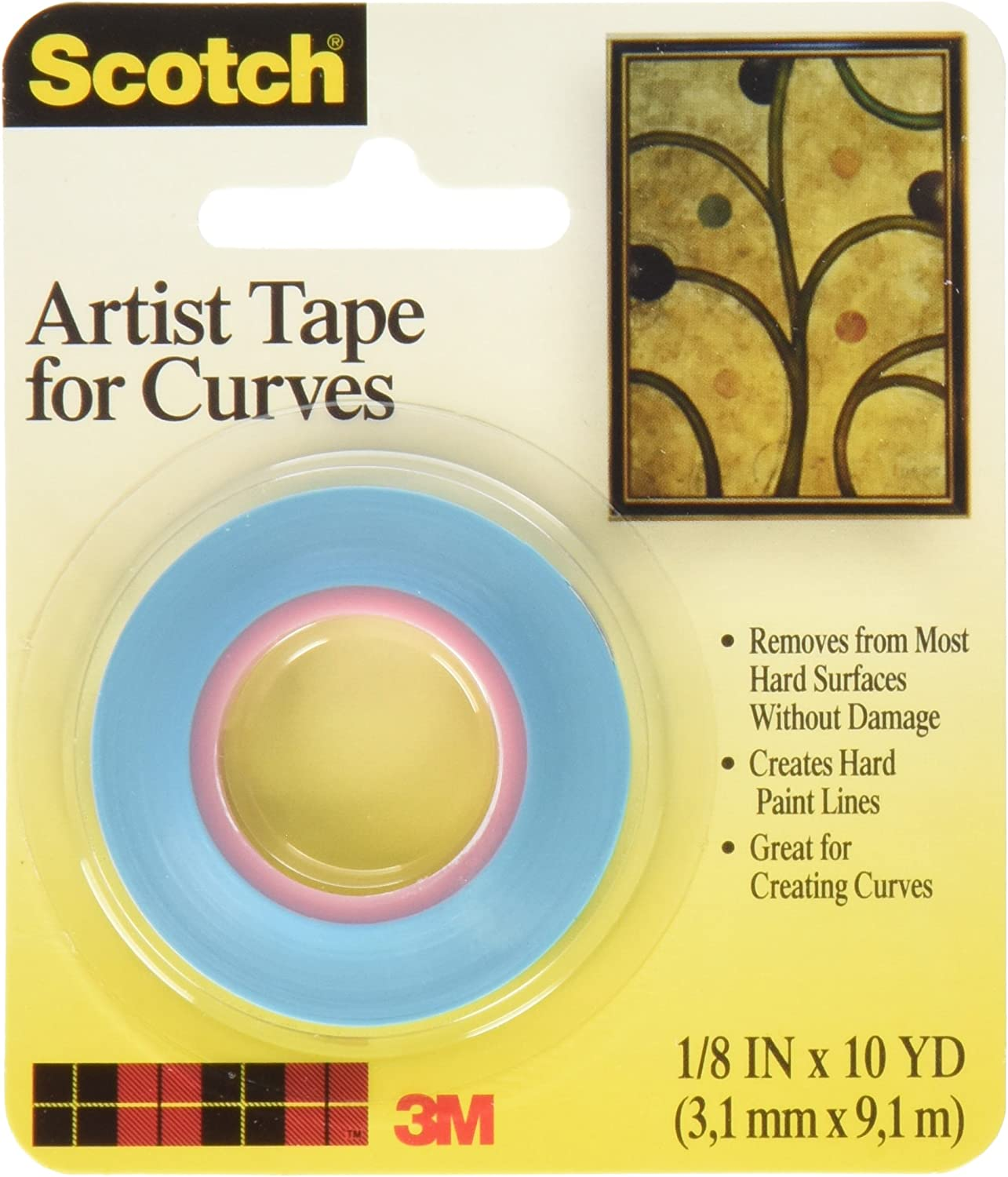 Bulk Buy Buy Buy  3M Scotch Artist Tape For Curves 1 8X10 Yards FA2038 by 3M B003I4CZLW   | Online Outlet Store  761420