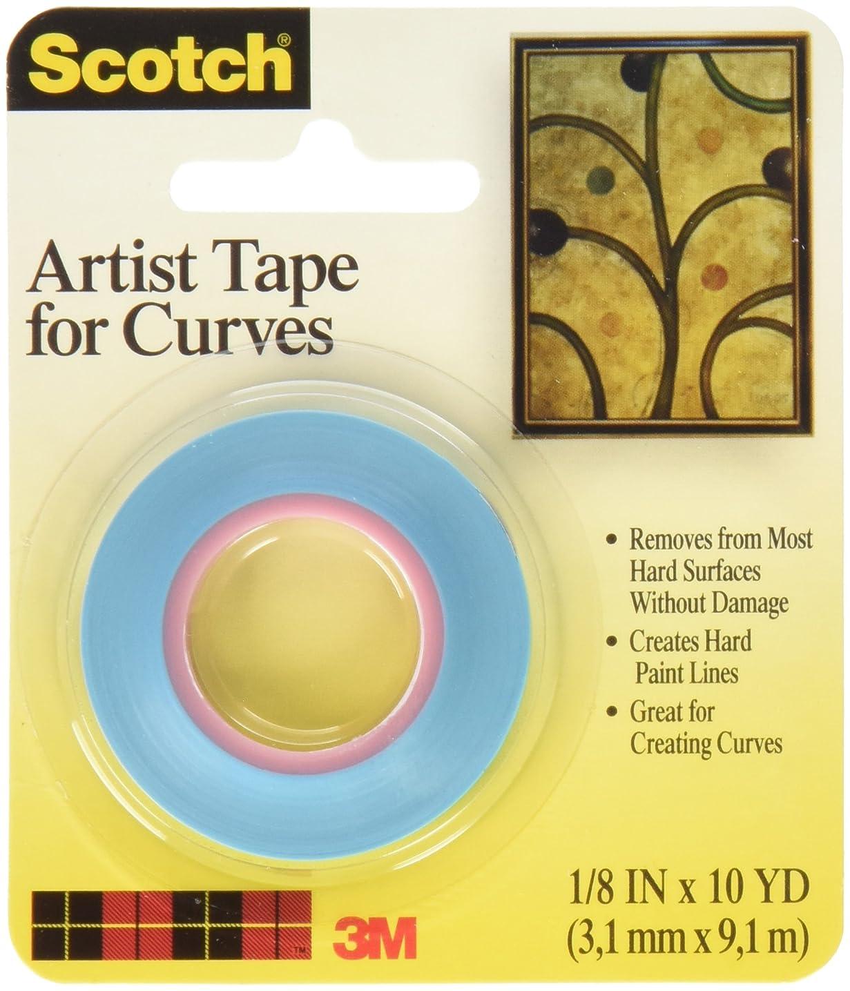 Bulk Buy: 3M Scotch Artist Tape For Curves 1/8