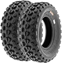 SunF A017 22x7-10 ATV/UTV XC-Sport Tires, 6-PR (Set Pair of 2)