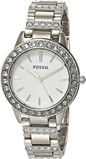 Fossil Women's Jesse Quartz Stainless Steel Dress Watch Color: