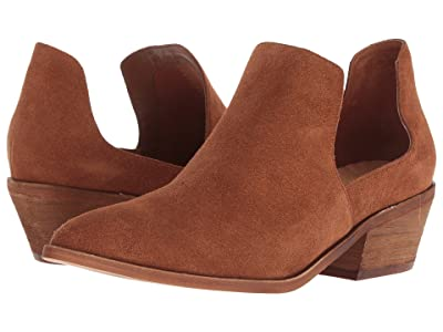 Chinese Laundry Focus Bootie (Rust Split Suede) Women