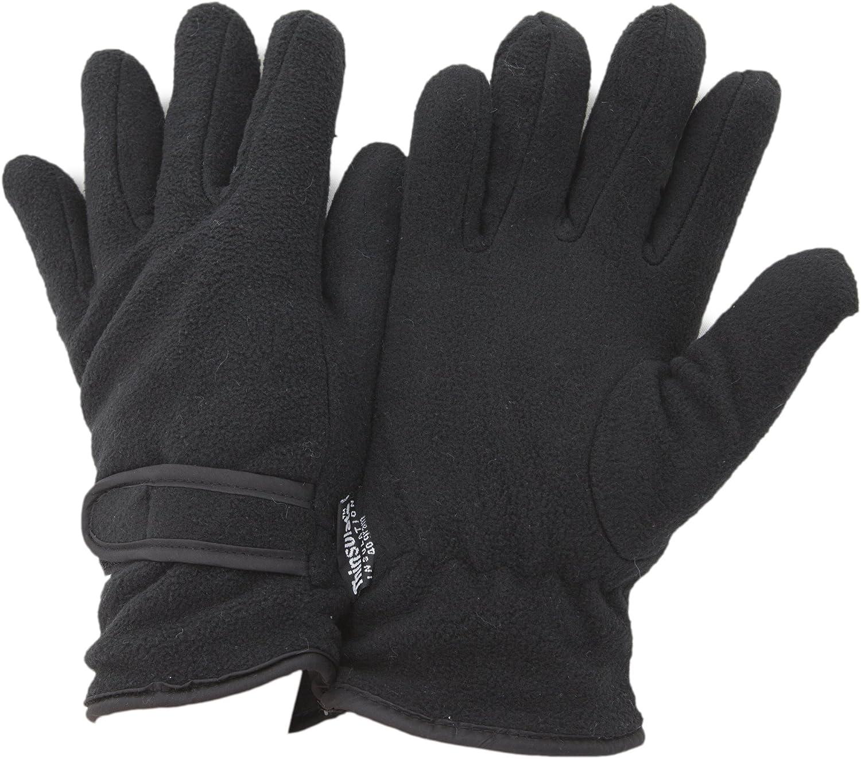 FLOSO Ladies/Womens Fleece Thermal Gloves (3M 40g)