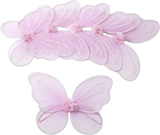 Girls Butterfly, Fairy, and Angel Wings for Kids 6 Pack