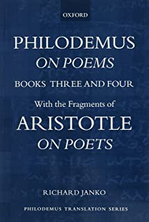 Philodemus, On Poems, Books 3-4: with the fragments of Aristotle, On Poets