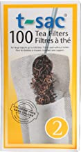 Modern Tea Filter Bags, Disposable Tea Infuser, Size 2, Set of 100 Filters - Heat Sealable, Natural, Easy to Use Anywhere, No Cleanup – Perfect for Teas, Coffee & Herbs - from Magic Teafit