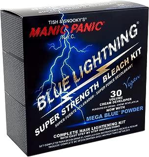 Manic Panic Blue Lightning Bleach Kit (Super Strength) (3 Pack)