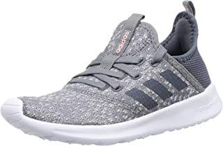 adidas Cloudfoam Pure Gry/Wht Womens Sneakers Sport Walking Shoes