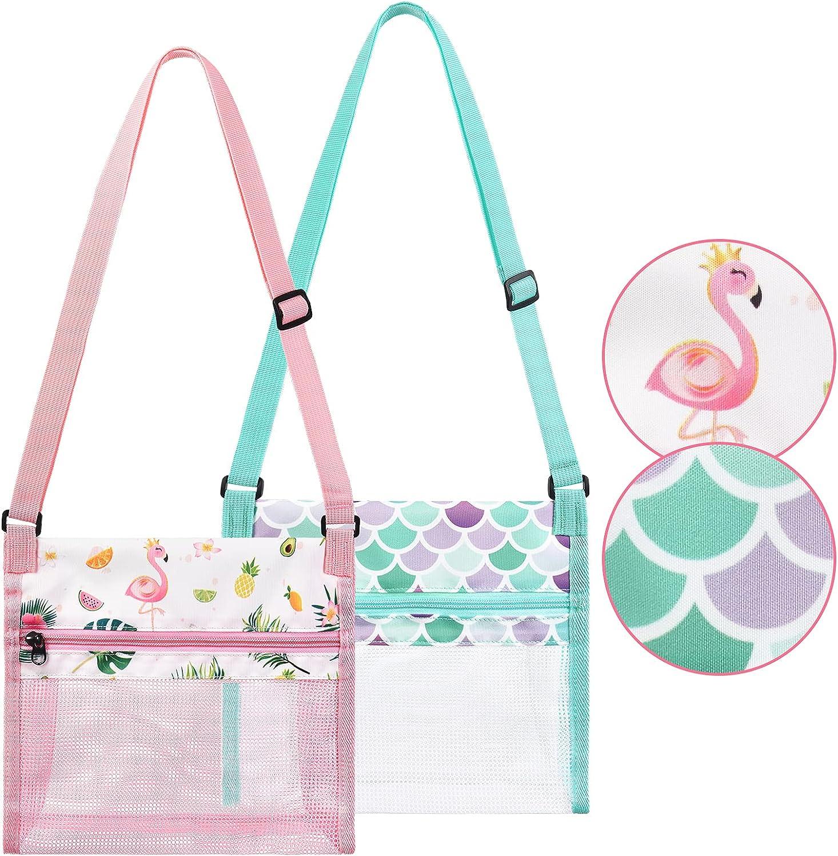 """WERNNSAI Seashell Beach Bags gift - Long-awaited 2 She 9.8"""" Packs x 9.4"""""""