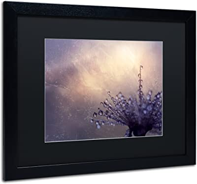 All the Good Wishes by Beata Czyzowska Young Black Matte and Black Frame, 16 by 20-Inch