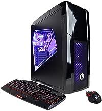 CYBERPOWERPC Gamer Xtreme GXi10080A Desktop Gaming PC (Intel i5-7400 3.0GHz, NVIDIA GTX 1050 Ti 4GB, 8GB DDR4 RAM, 1TB 7200RPM HDD, 120GB SSD, Win 10 Home), Black