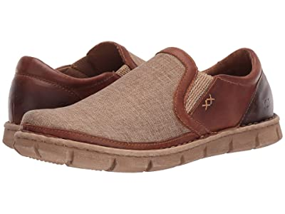 Born Sawyer (Natural/Light Brown Canvas Combo 2) Men