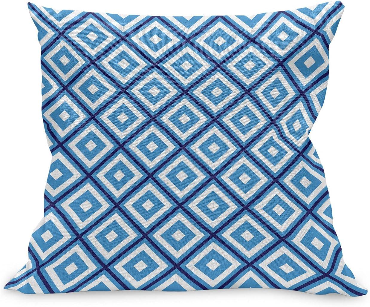 Ambesonne Abstract Throw Pillow Award Cushion Case Diamond Geometric Tulsa Mall