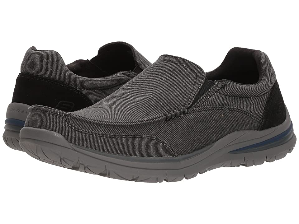 SKECHERS Classic Fit Superior 2.0 Vorado (Black) Men
