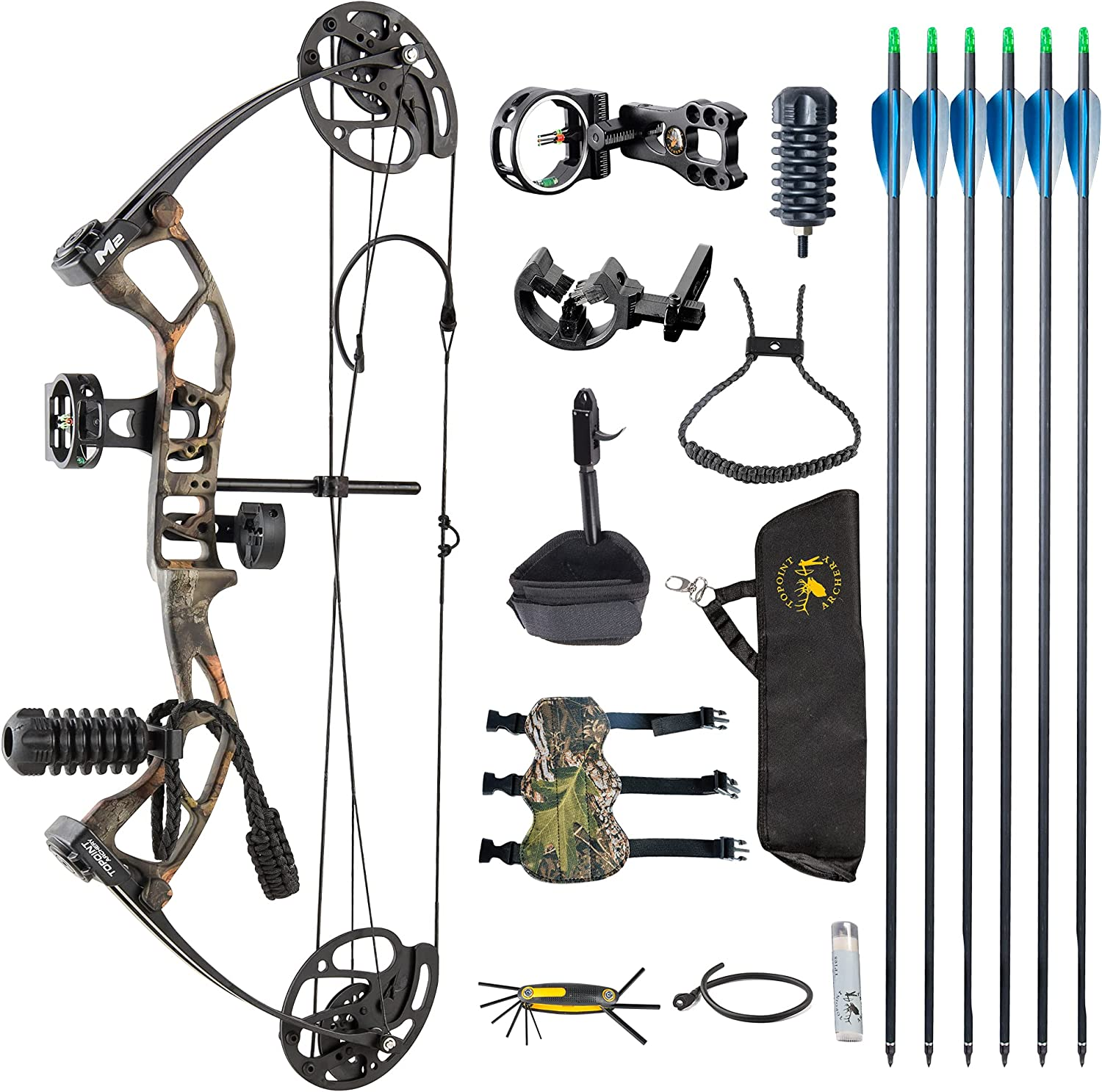DJH Archery Youth Compound sold out Bow Great interest Package Lbs Draw Weight Adj 10-40