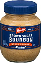 French's Brown Sugar Bourbon Stone Ground Mustard, 5.8 Ounce (Pack of 6)