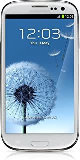 Samsung Galaxy S III T999 16GB Unlocked GSM Phone with Android 4.0 OS, Super AMOLED Touchscreen, 8MP Camera, GPS, Wi-Fi, Bluetooth and microSD Slot - Marble White