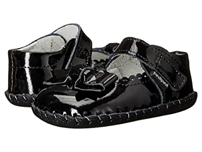 pediped Betty Original (Infant) (Black Patent) Girls Shoes