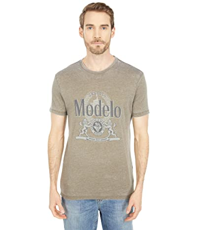 Lucky Brand Modelo Crest Graphic Tee Men